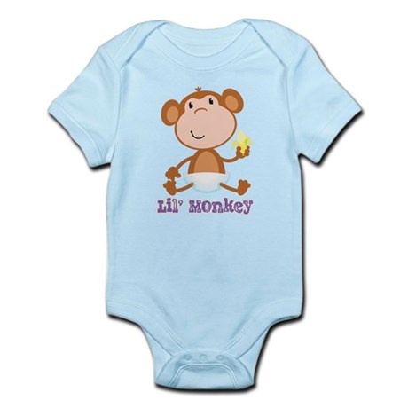 Lil' Monkey Smile Infant Bodysuit