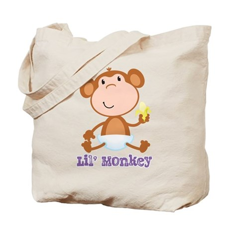 Lil' Monkey Smile Tote Bag