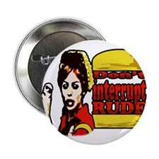 "Cute Interruption 2.25"" Button (10 pack)"