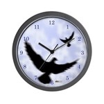 Homer Fly Home! Wall Clock