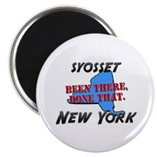 syosset new york - been there, done that Magnet