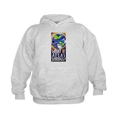 ATLAS SHRUGGED Kids Hoodie