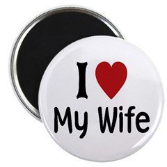 "I Love My Wife 2.25"" Magnet (10 pack)"