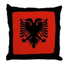 Albanian Throw Pillow