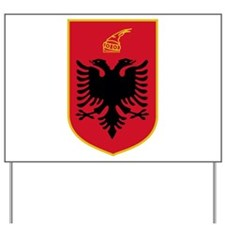 Albania Coat of Arms Yard Sign