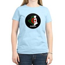 Flag Map of Algeria T-Shirt