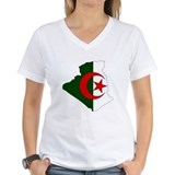 Algeria Flag Map Shirt
