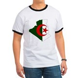 Algeria Flag Map T