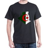 Algeria Flag Map T-Shirt