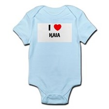 I LOVE KAIA Infant Creeper