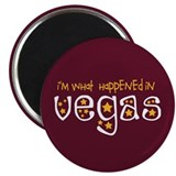 "I'm What Happened In Vegas 2.25"" Magnet (100 pack)"