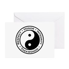 Respect Honor Integrity TKD Greeting Cards (Pk of