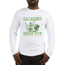 Gallagher's Vintage Irish Pub Personalized Long Sl