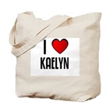 I LOVE KAELYN Tote Bag