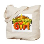 Hot Portuguese Girl Tote Bag