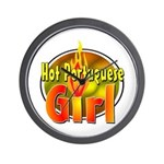 Hot Portuguese Girl Wall Clock