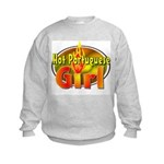Hot Portuguese Girl Kids Sweatshirt