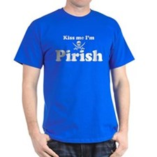 Kiss me I'm Pirish T-Shirt