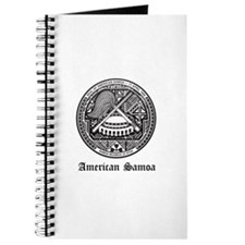 Samoan Coat of Arms Seal Journal