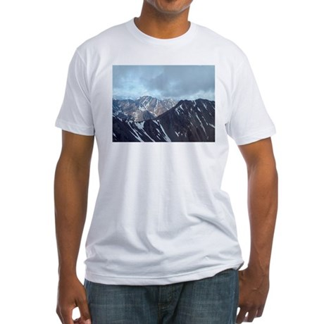 Alaska Scene 10 Fitted T-Shirt