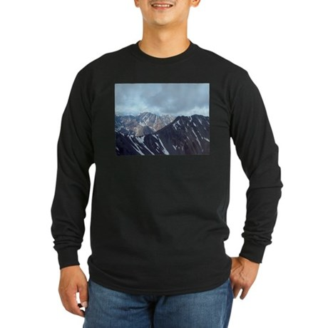 Alaska Scene 10 Long Sleeve Dark T-Shirt