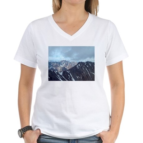 Alaska Scene 10 Women's V-Neck T-Shirt