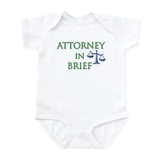 Attorney in Brief Onesie