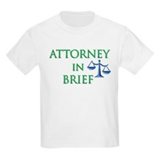 Attorney in Brief T-Shirt
