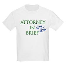Attorney in Brief T-Shirt