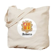 Andorran Coat of Arms Seal Tote Bag