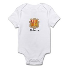 Andorran Coat of Arms Seal Infant Bodysuit