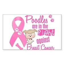 Bulldogs Against Breast Cancer 2 Decal