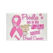 Bulldogs Against Breast Cancer 2 Rectangle Magnet