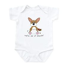Tubby Corgi Infant Bodysuit