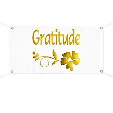 Gratitude Banner