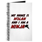 my name is nolan and i am a ninja Journal