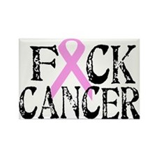 F*CK Cancer Rectangle Magnet
