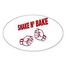Shake n Bake Oval Decal