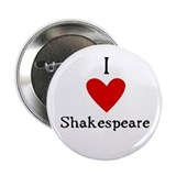 "Shakespeare Love 2.25"" Button"