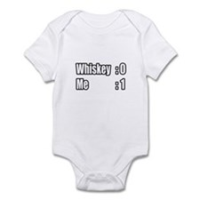 """I Win. Whiskey Loses."" Infant Bodysuit"