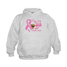 Pugs Against Breast Cancer 2 Hoodie