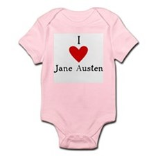 Jane Austen Love Infant Bodysuit