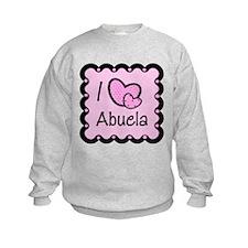 I Love Abuela Sweatshirt
