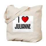 I LOVE JULIANNE Tote Bag
