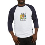 Antarctican Coat of Arms Seal Baseball Jersey