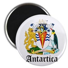 "Antarctican Coat of Arms Seal 2.25"" Magnet (100 pa"