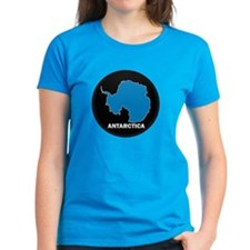 Flag Map of Antarctica Tee