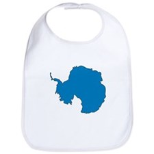 Antarctica Flag Map Bib