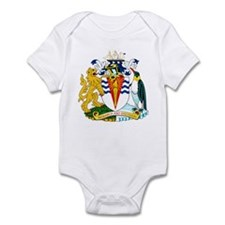 Antarctica Coat of Arms Infant Bodysuit