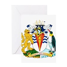 Antarctica Coat of Arms Greeting Card